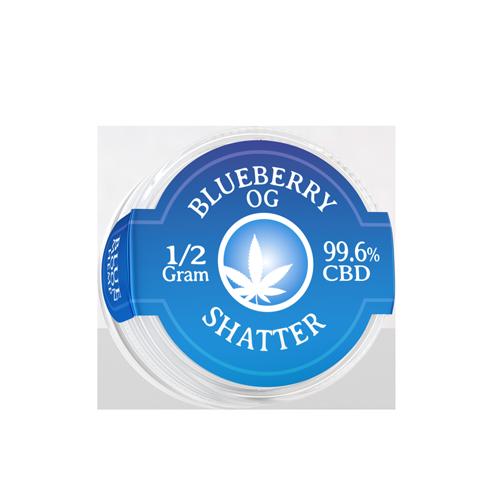Blueberry OG CBD Shatter