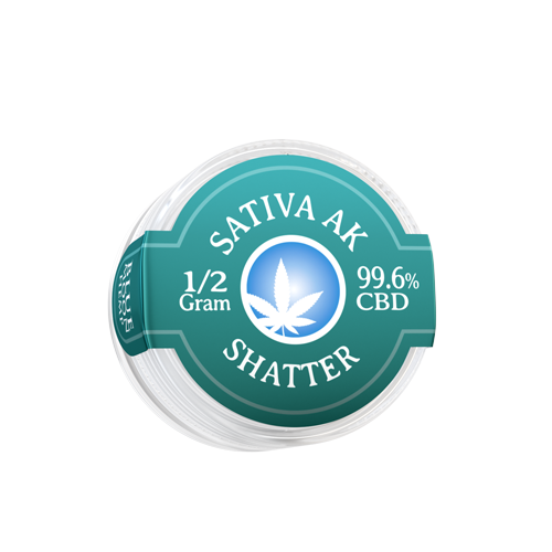 Sativa AK CBD Shatter