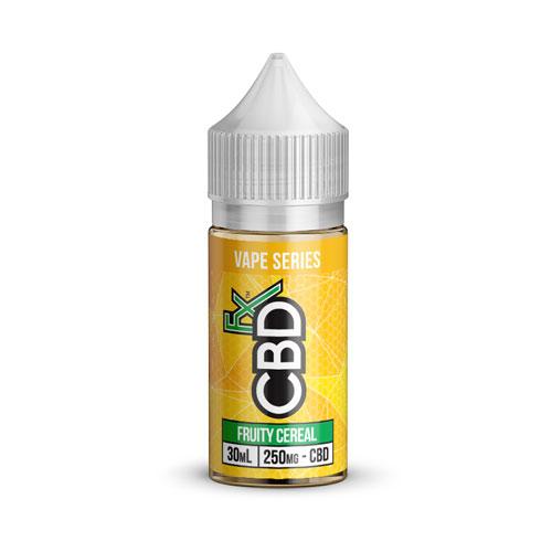CBDfx-Fruity-Cereal-CBD-Vape-Juice-250mg. Hemp CBD tincture for sale. Buy cbd tincture online. Hemp CBD for sale USA.