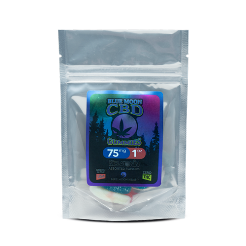 Blue Moon Hemp CBD Gummies with Melatonin