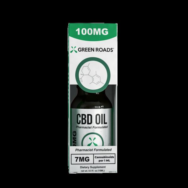 Green Roads CBD Oil 100mg Broad Spectrum CBD Oil
