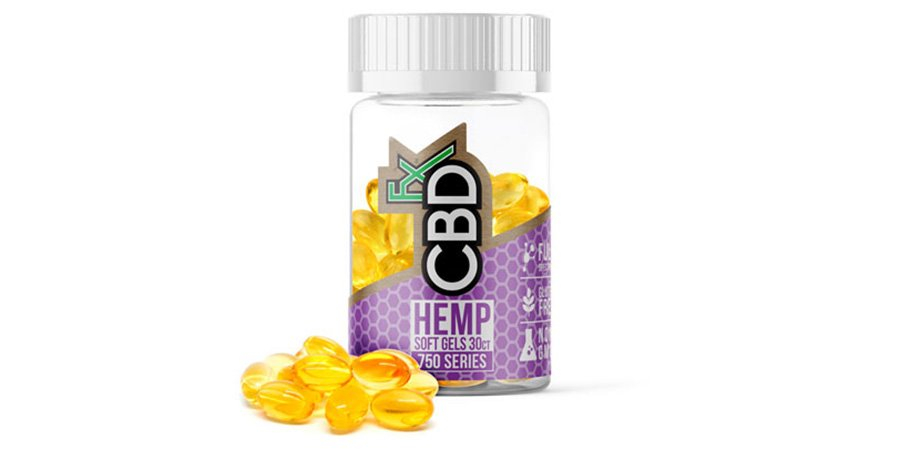 CBDFx hemp softgels for sale online.