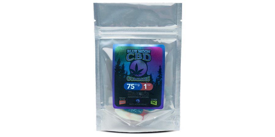 blue moon cbd gummies for headaches for sale online.