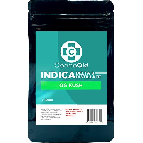 Canna Aid Delta 8 Distillate OG Kush Indica