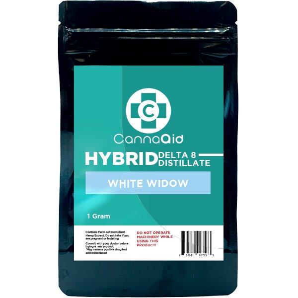 Canna Aid Delta 8 Distillate White Widow Hybrid