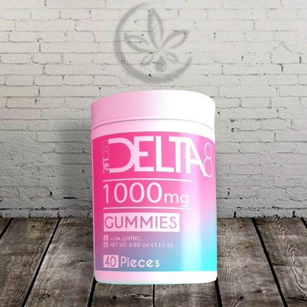 Rift Delta-8 THC Gummies
