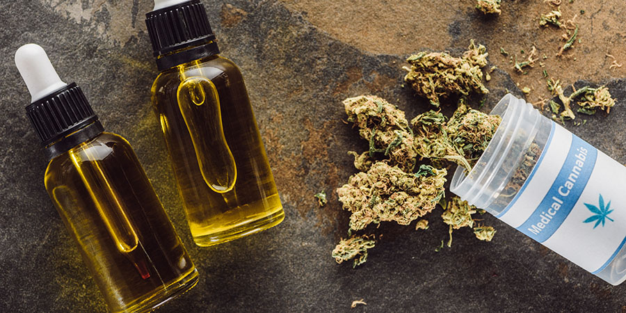 delta thc oil for sale next to marijuana buds