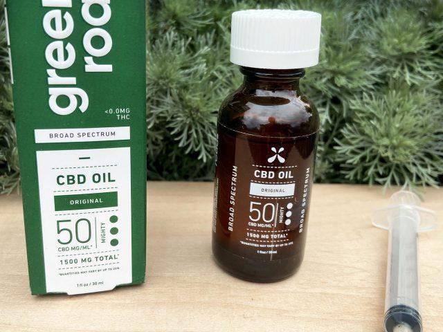 Green roads full spectrum CBD oil