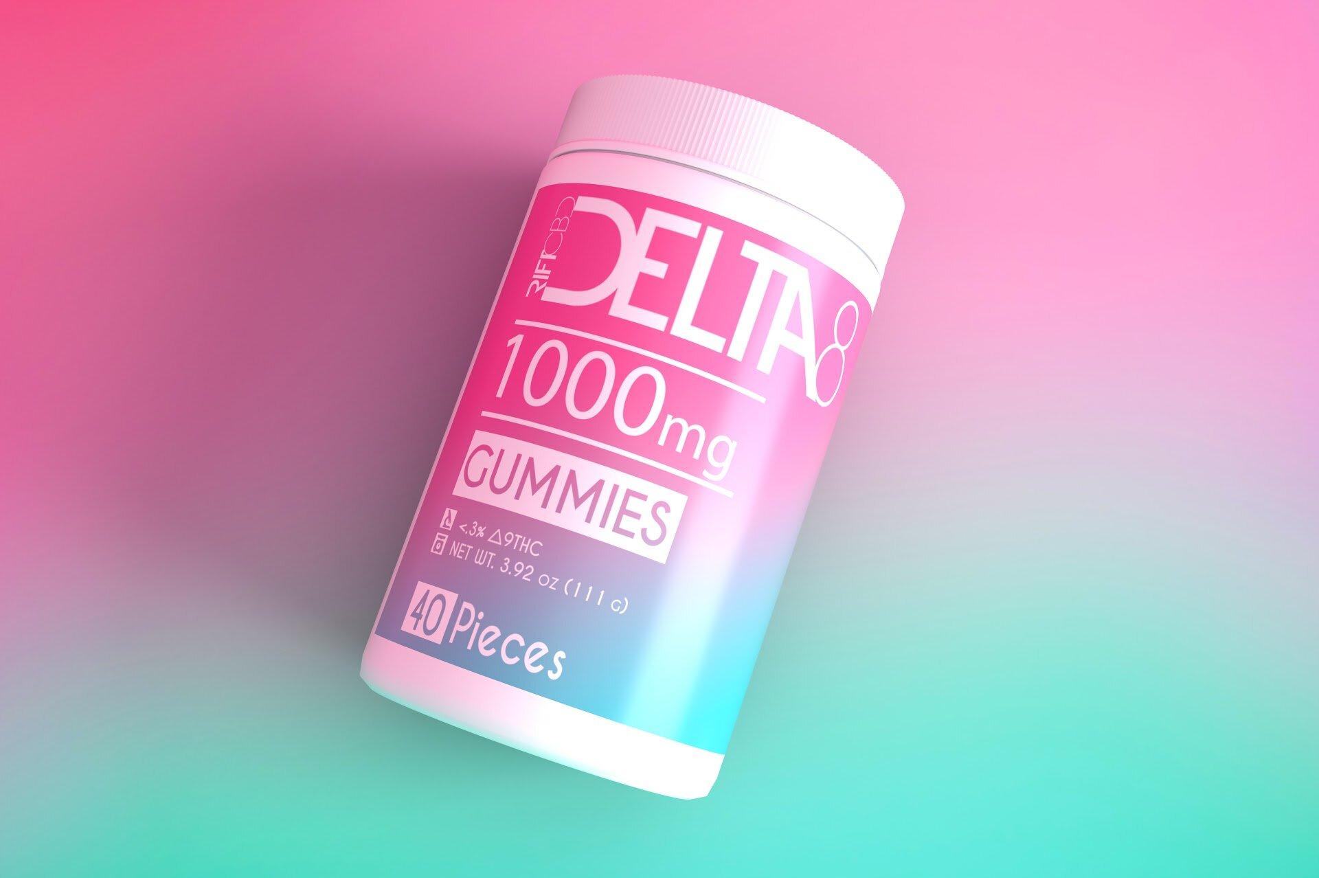 rift delta 8 thc edibles gummies 1000mg