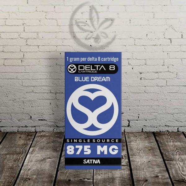 Single Source Delta-8 THC Vape Cartridge