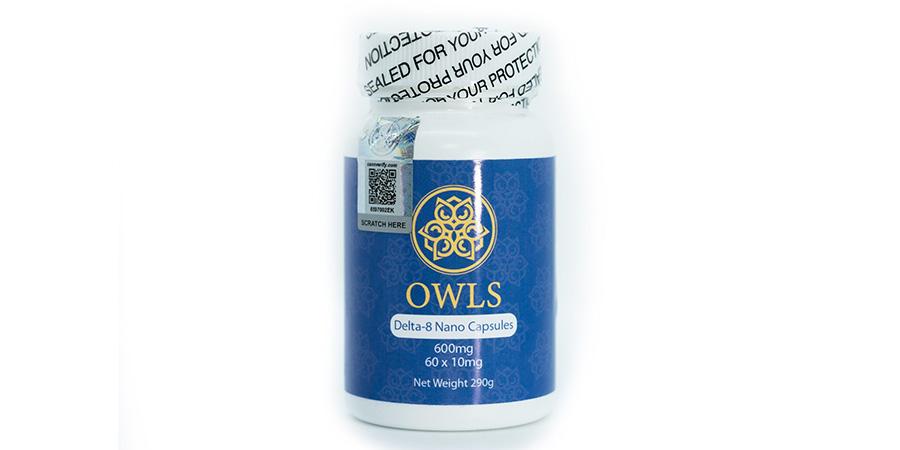 Owls delta-8 THC nano capsules 600mg for sale