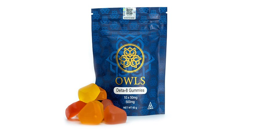 Owls delta-8 THC gummies 500mg for sale