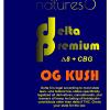 natures8 delta 8 thc cbg OG Kush 1ml Vape Cartridge