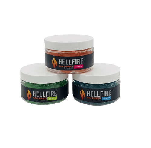 HellFire Delta-8 THC Gummies Group Photo
