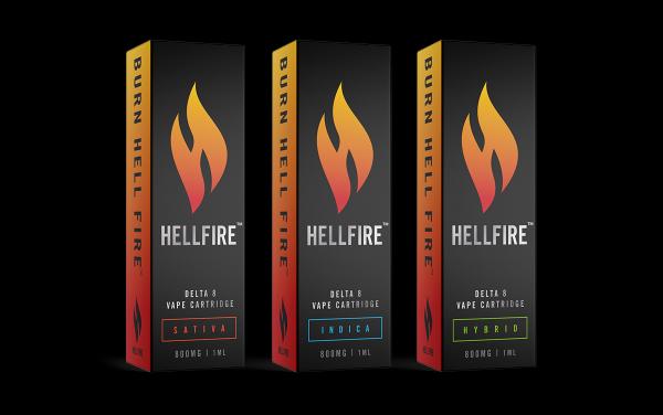 Hellfire Delta-8 THC Group Photo