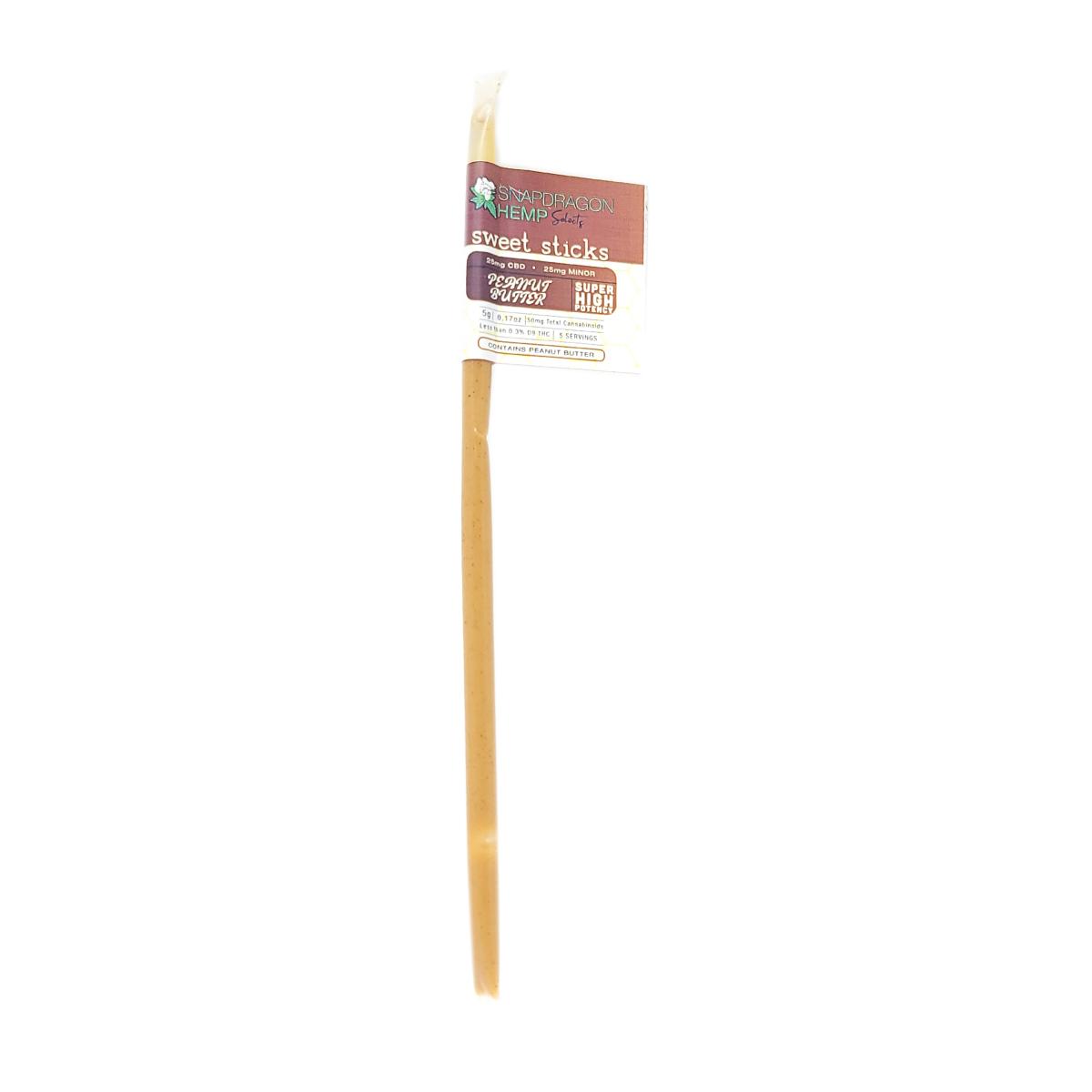 Snapdragon Hemp Delta-8 THC Sweet Sticks -- Peanut Butter -- 50mg