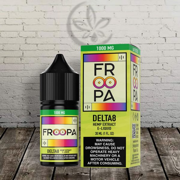 Froopa 8 Delta-8 THC Hemp Extract E-Liquid 1000mg