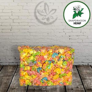 Snapdragon Hemp Delta-8 THC Cereal Treats 50mg
