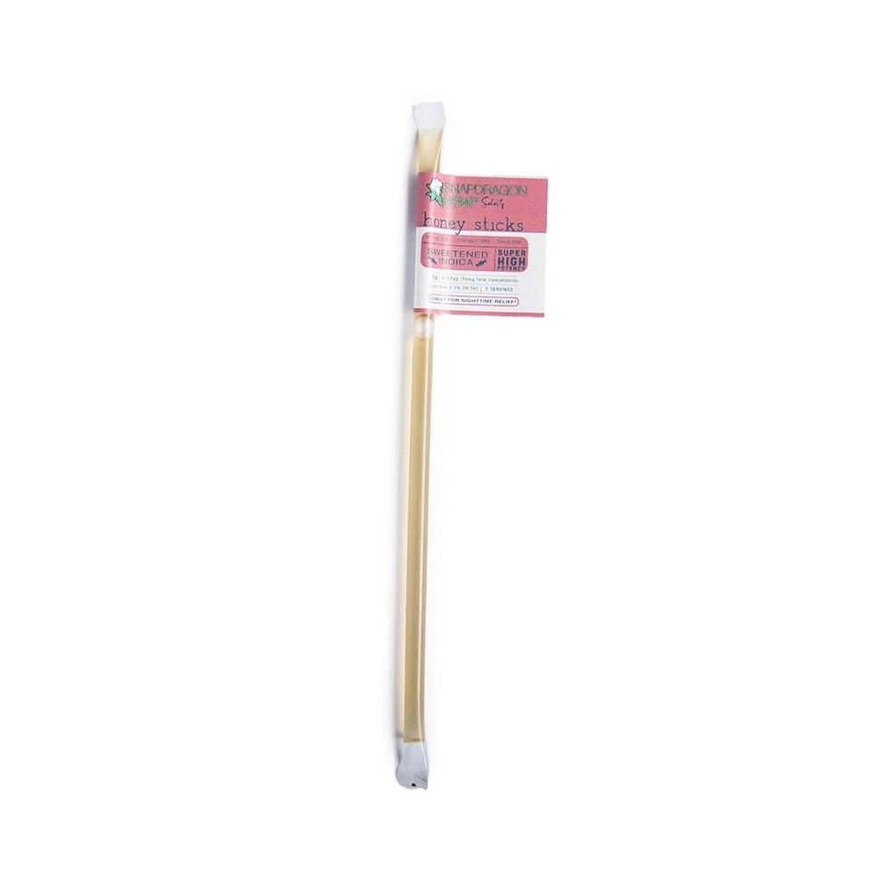snapdragon hemp delta-8 thc sweetened indica honey sticks