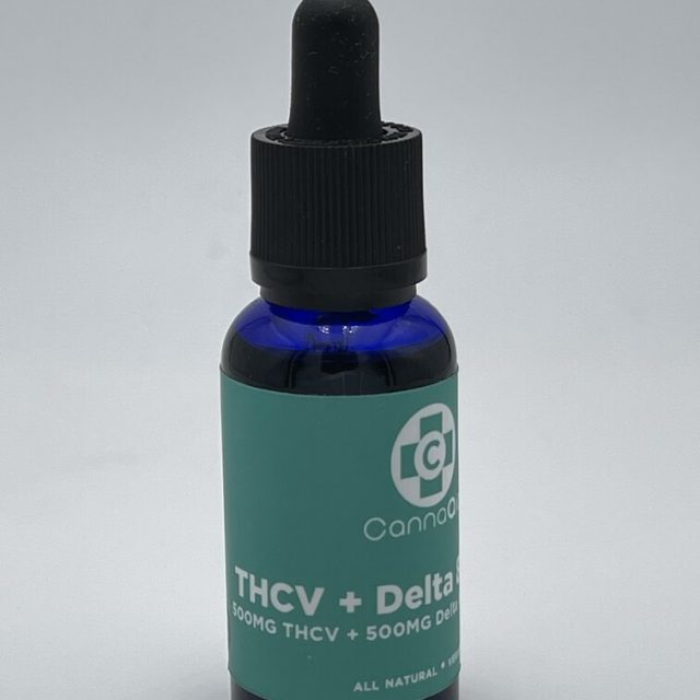 Canna Aid THCv:Delta8 Blended Tincture