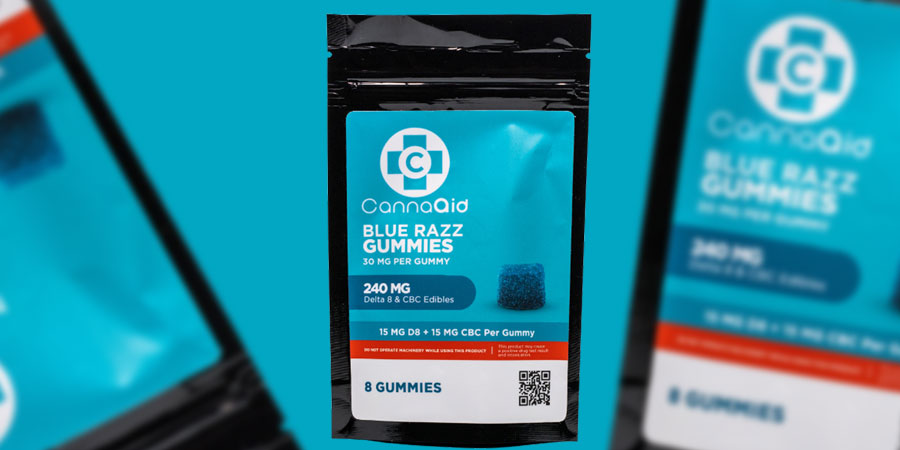 Canna aids CBC:delta8 gummies