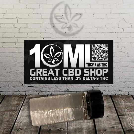 10 ml thcv Great Cbd Shop