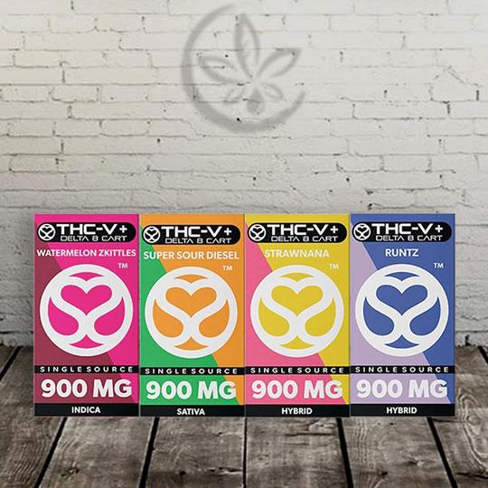 THCv + Delta 8 THC Vape Cartridges
