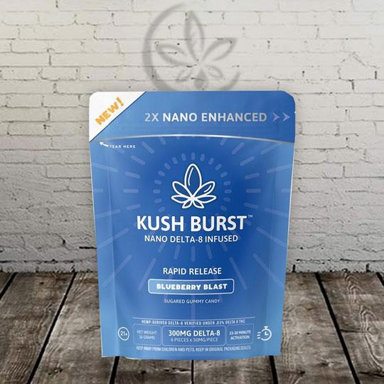 Kush Burst Delta 8 THC Nano Gummies