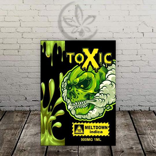 Toxic Delta 10 Vape Cartridge