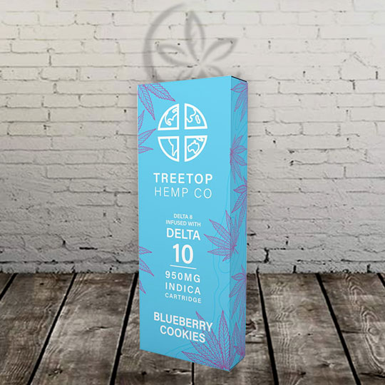 TreeTop Hemp Delta10 Vape Cartridge