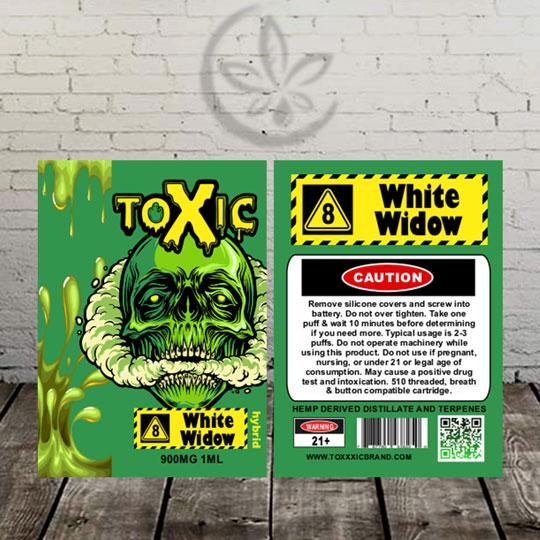 Toxic Delta 8 Cart